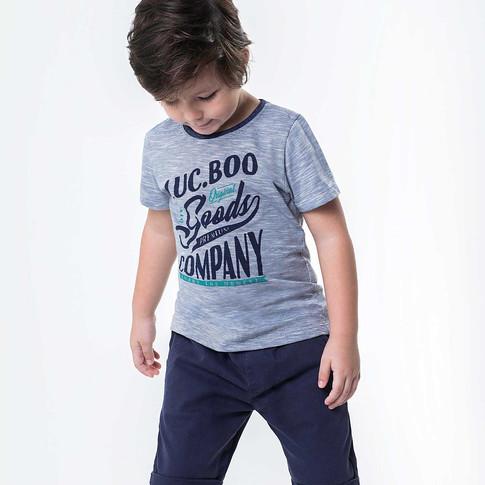 29248 - conj camiseta de malha mesclada
