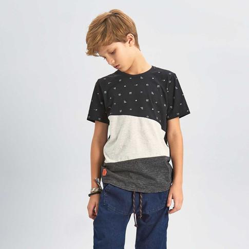 35929 - camiseta em meia malha estampada