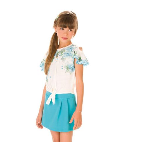 36294 - conj blusa boxy em cotton e shor