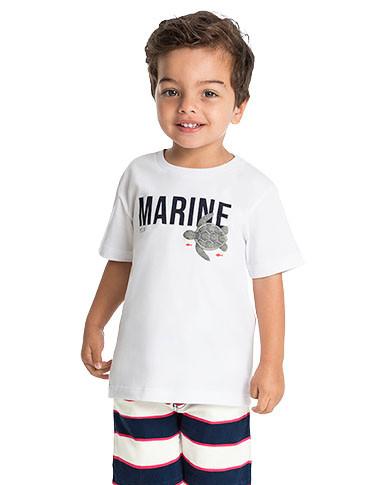 10913 - conjunto camiseta malha e bermud