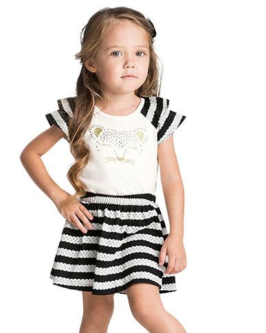 10801 - conjunto blusa malha com mangas