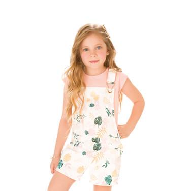29303 - conj blusa cotton e jardineira s