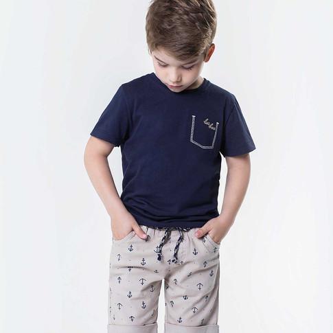 29257 - conj camisa de meia malha e berm