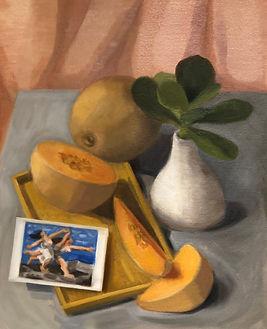 Cantaloupe Rock Melon Postcard