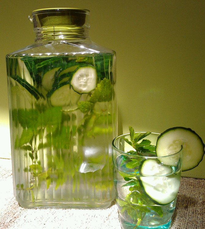 "Cucumber ""Life Water"""