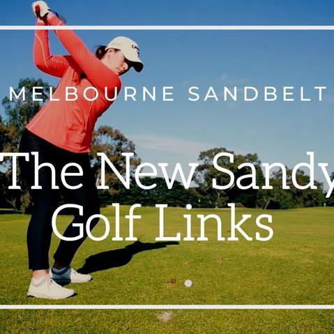 Sandy Golf Links, Melbourne, Australia