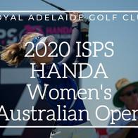 2020 ISPS HANDA Women's Australian Open