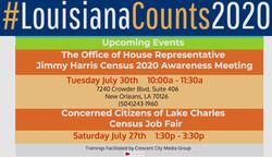#LouisianaCounts2020