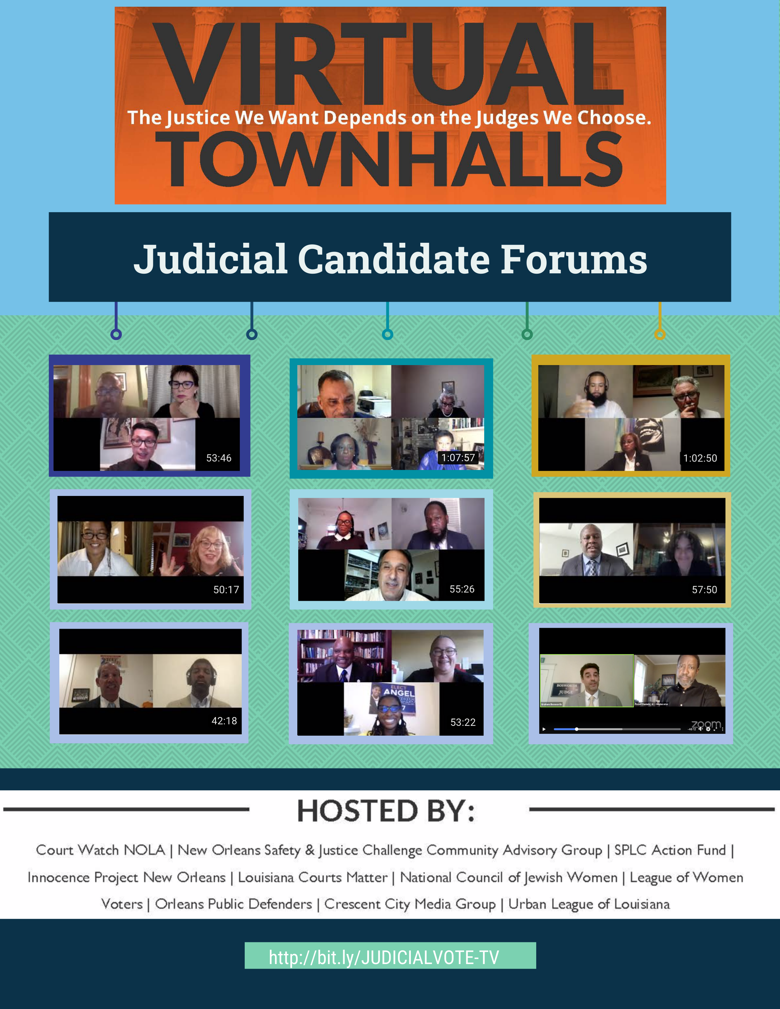 Virtual Judicial Candidate Town Hall Series