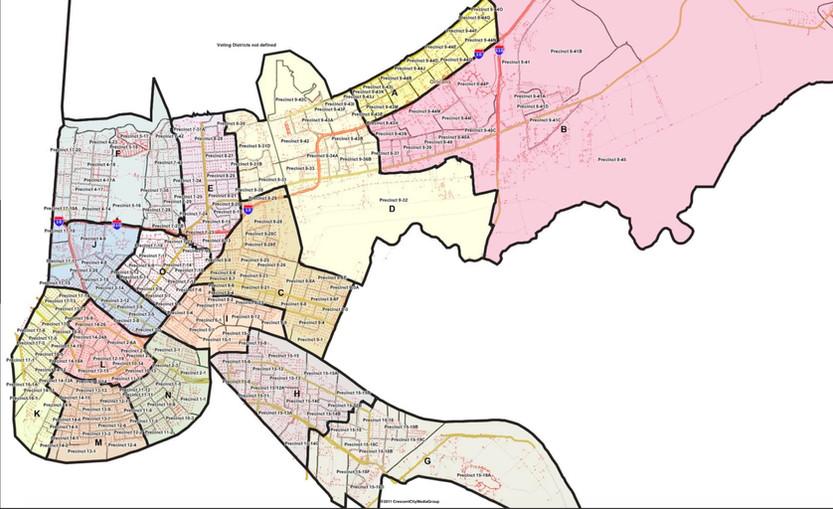 Map#1 CCMG, 2011 - GNORRT Map - City Council15