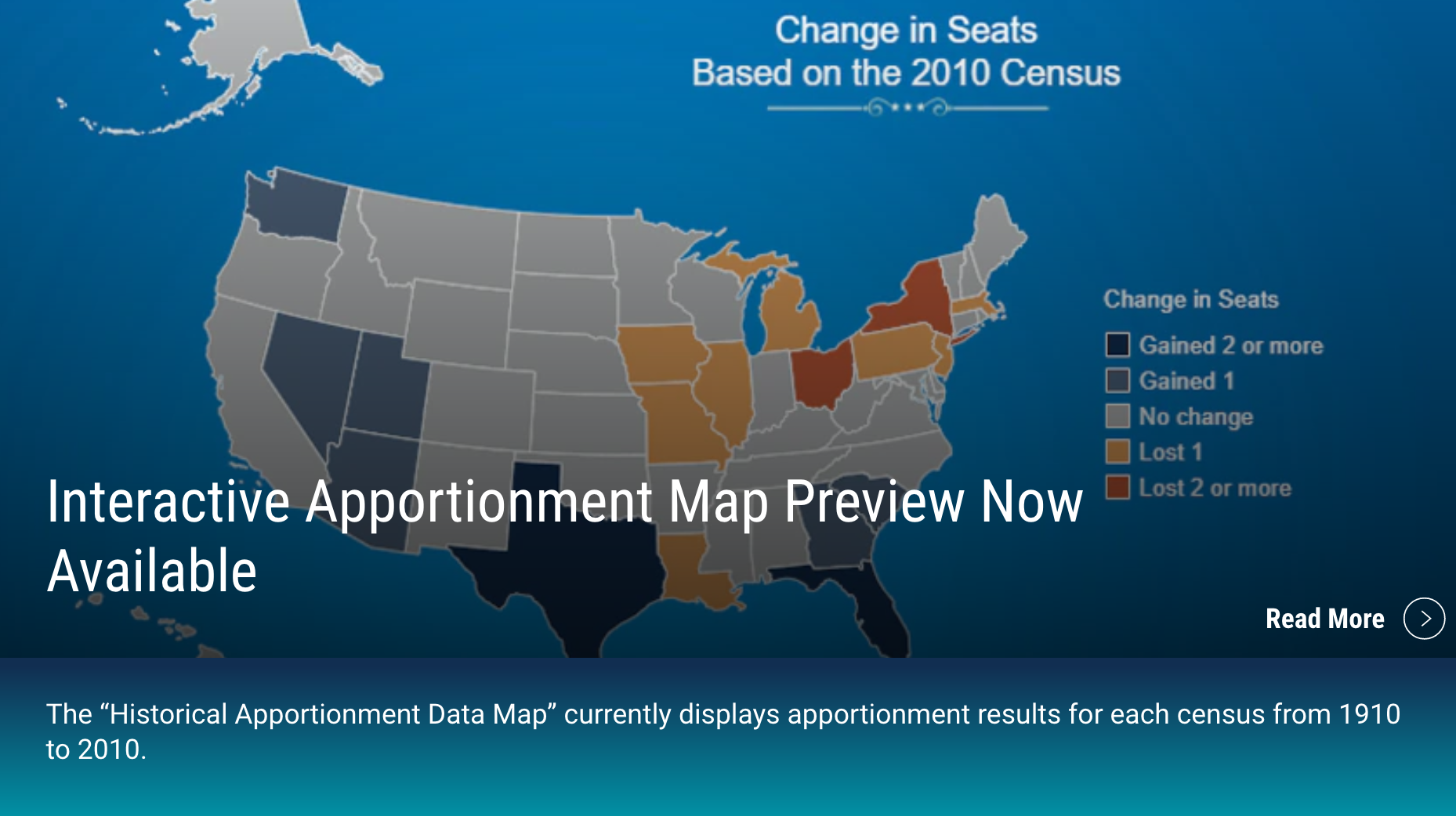 Historical Apportionment Data Map!!