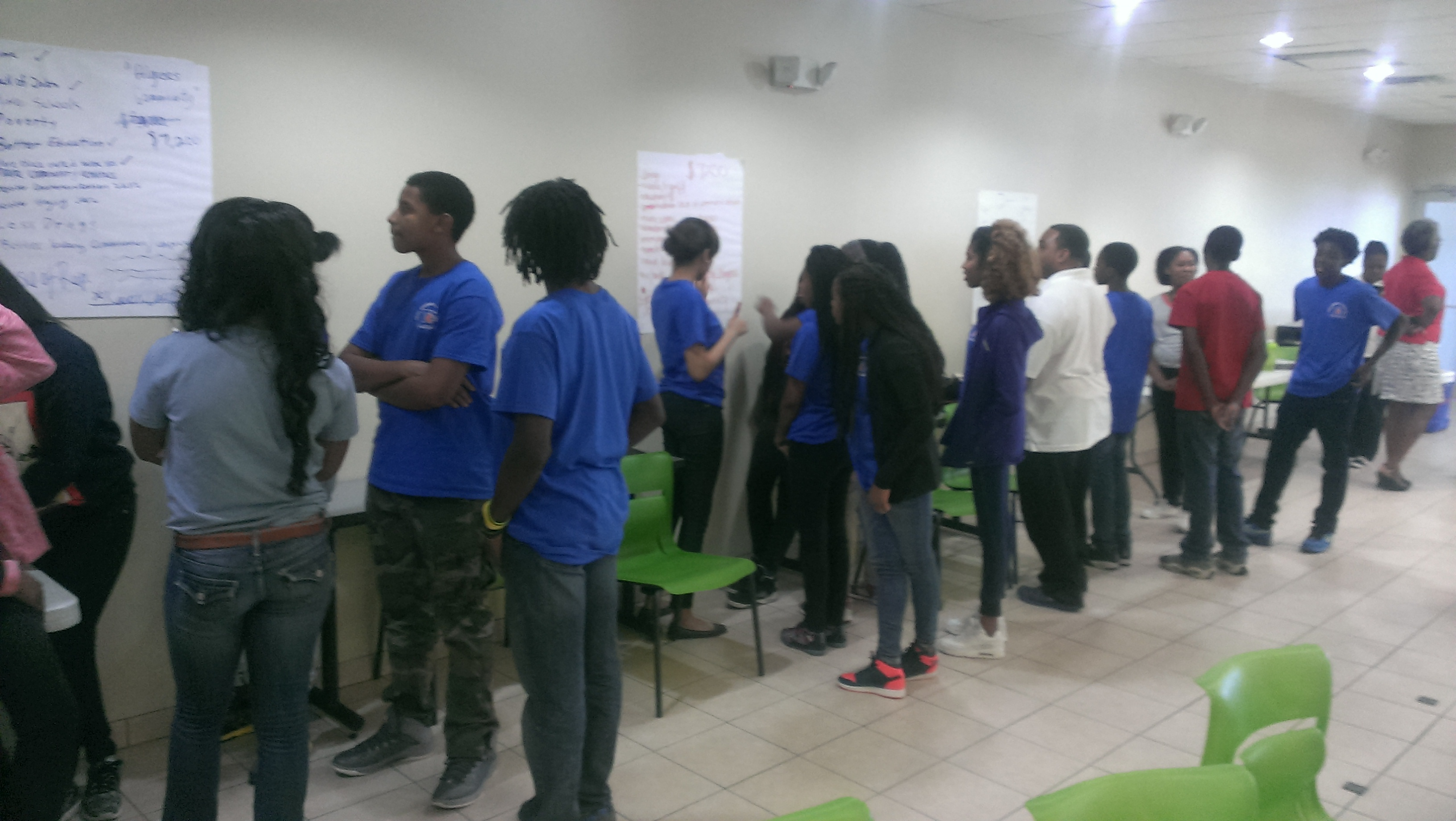 Democracy & Power Training @ TCA