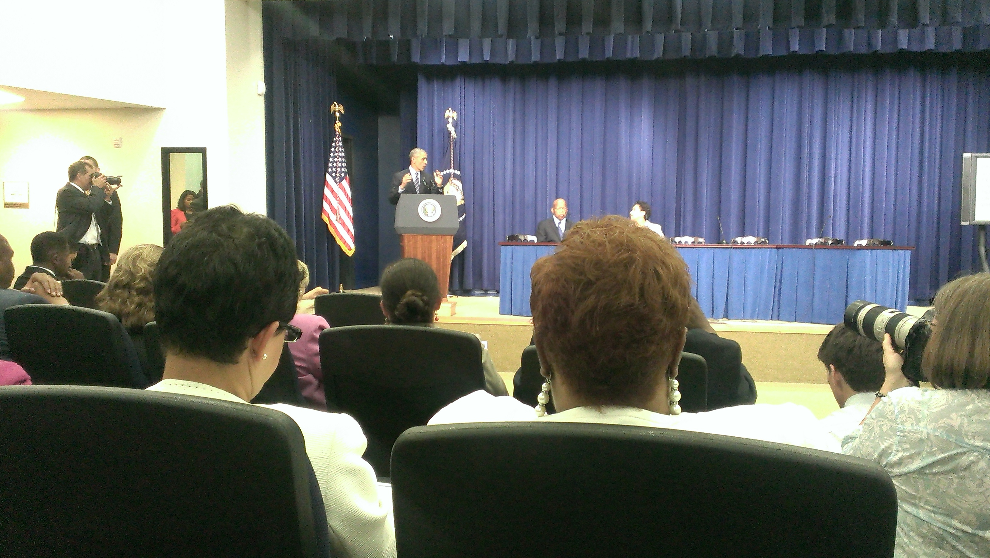 Aug 6 White House 50th Year of VRA