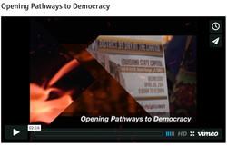 Opening Pathways to Democracy