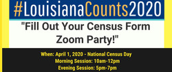Fill Out Your Census Zoom Party!!