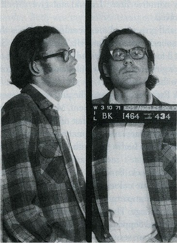 James Ellroy courtesy of the LAPD