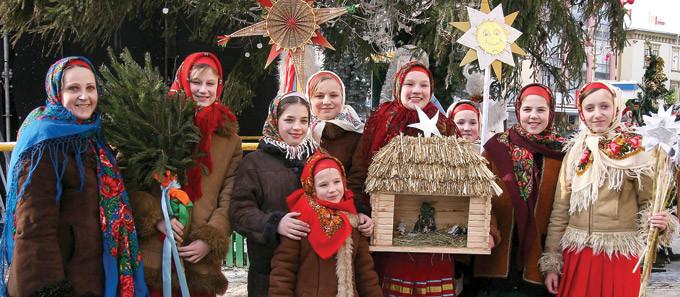 Рождество, Гуцульщина