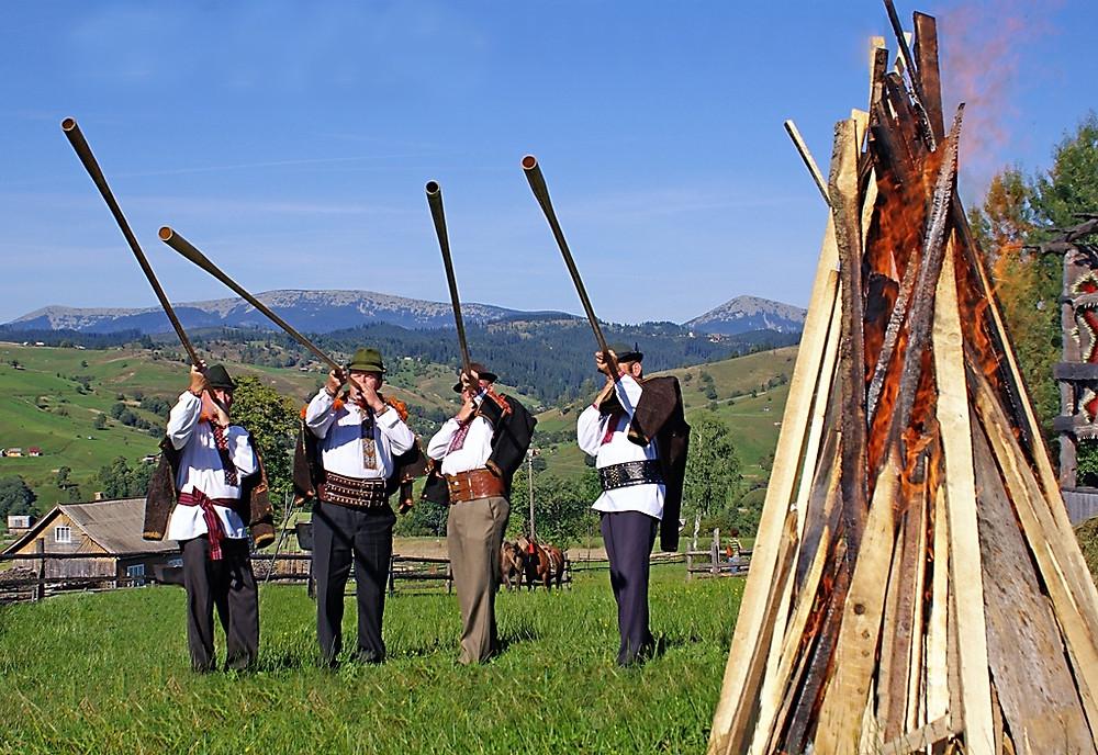 Фестиваль трембит Закарпатье