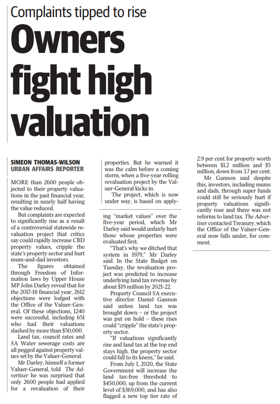 Owners Fight High Valuation