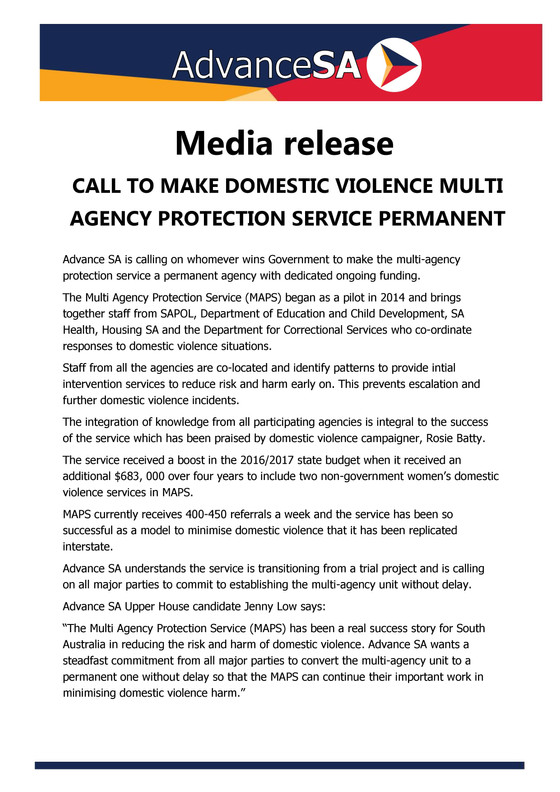 Domestic Violence Multi-Agency Protection Service