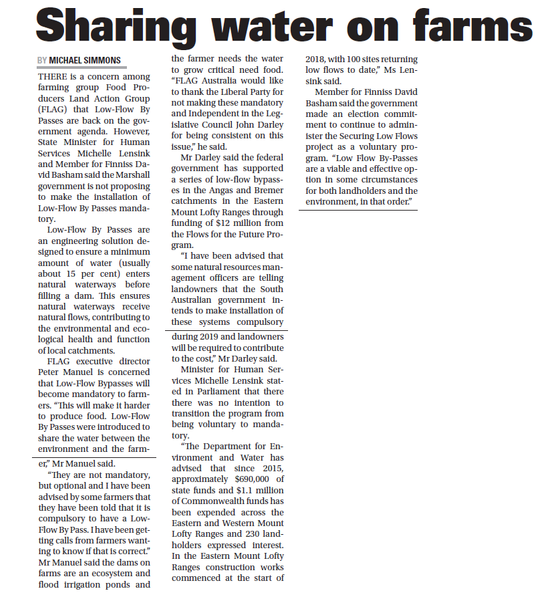 Sharing Water on Farms