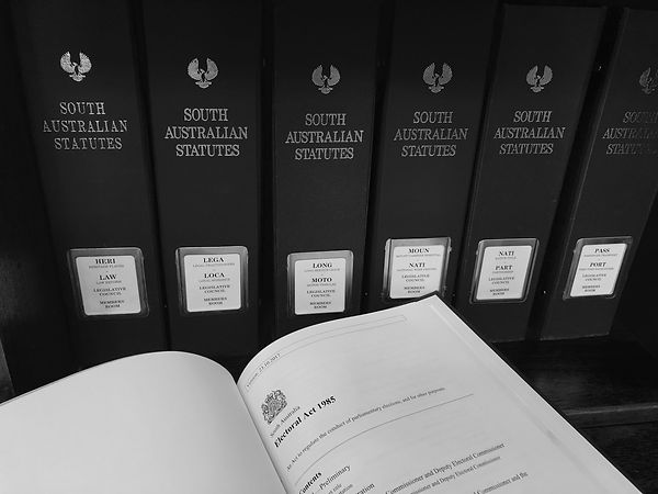 South Australian Statutes folders