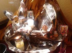 Meditation Altar detail