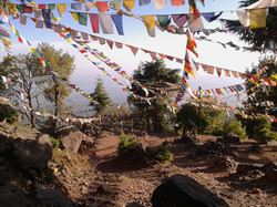 pilgrimage site - cremation grounds, near Dharamsala, India