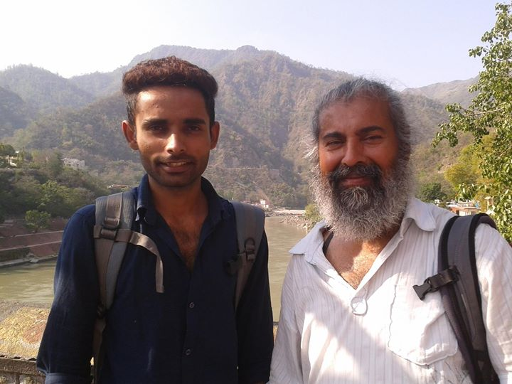 Abhishek and Babajaan in Rishikesh _D
