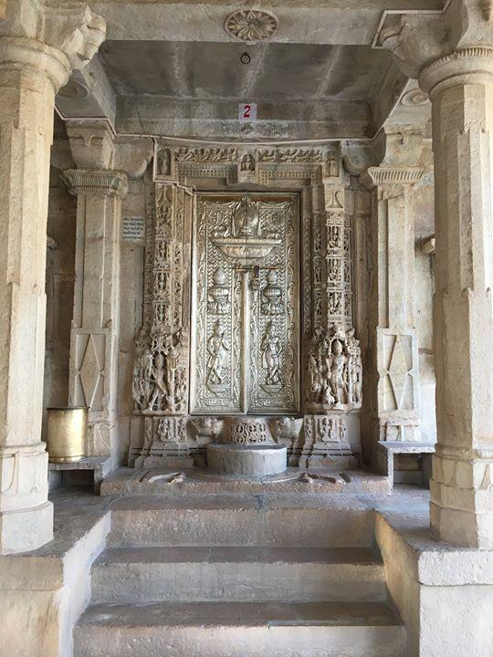 Tomb of the second enlightened Jain master