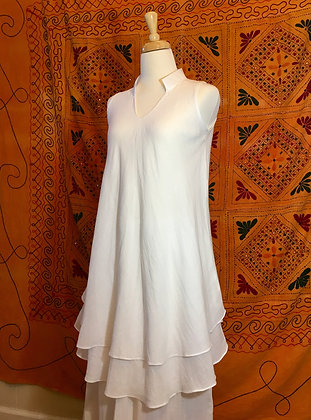 Rabiya dress, Thai cotton, double layer