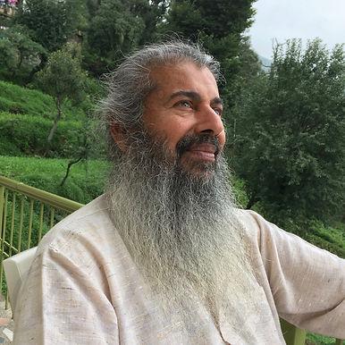 Adiatmana (Babajaan) in Dharamsala, India, June 2017