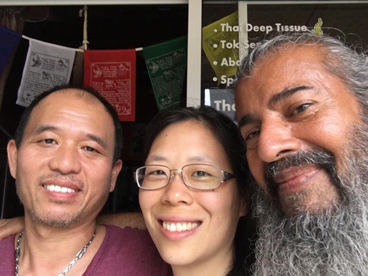 Heartful teacher of Thai Massage