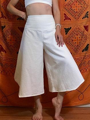 Suluv tribal pant, Thai cotton twill