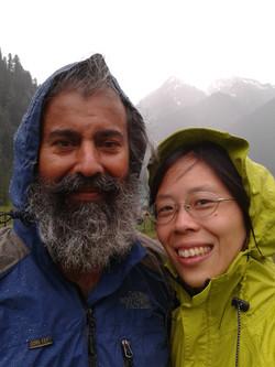 Adiatmana & Aastha in monsoon season