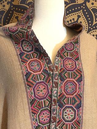 Himalayan Tribal Handwoven Cashmere Wool Shawl