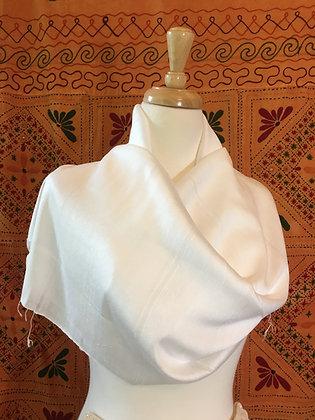 50/50 Thai Silk & Cotton Shawl