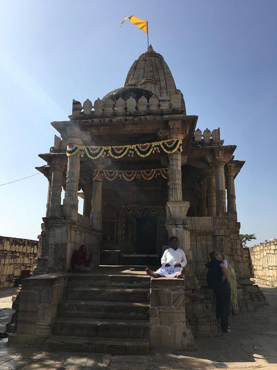 The 16th century mystic saint Meerabai's temple to Lord Krishna