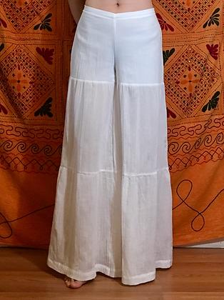 Chandrani pant, 3 tier w/ lining, Thai cotton
