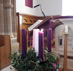 Advent Candles 19