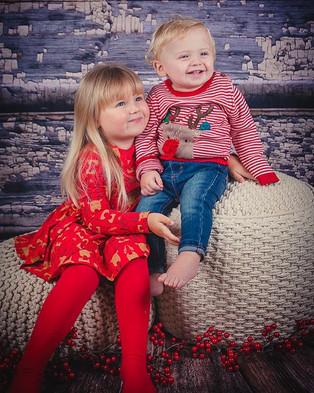 Lyla and Ace 🎄❤️ @brooko_f  #christmasp