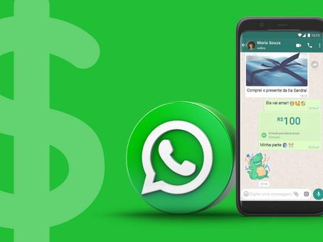 Liberadas no Brasil transferências financeiras via WhatsApp