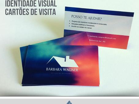 Desenvolvimento de identidade visual e impresso