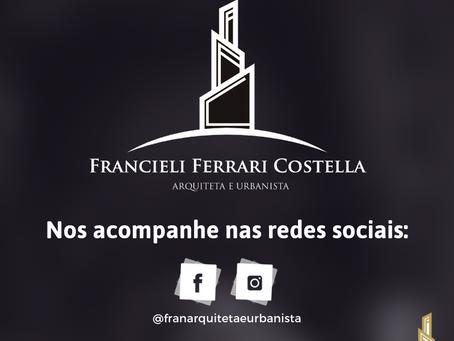 Desenvolvimento e gestão de marca para Arquiteta e Urbanista Francieli Ferrari Costela