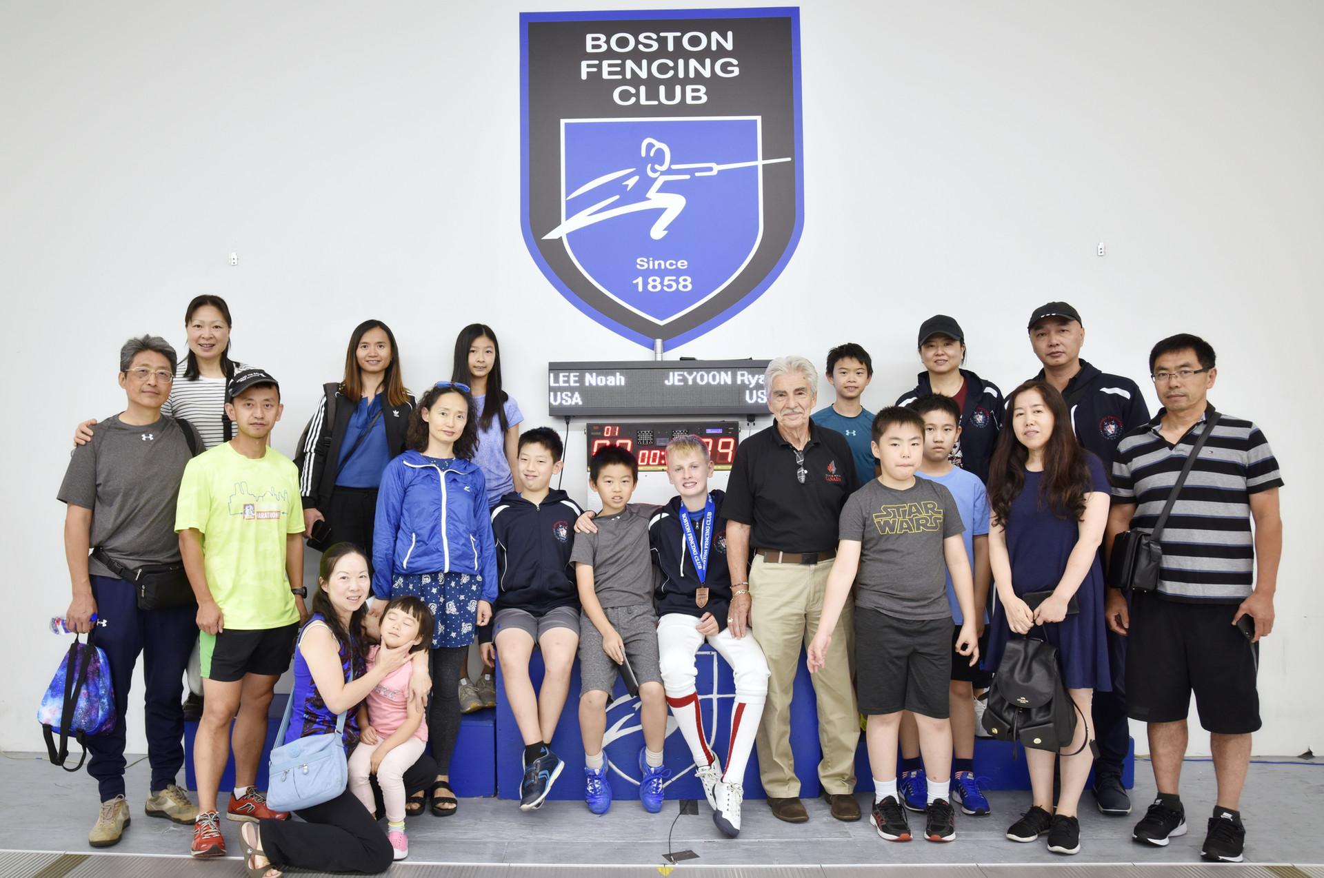 Aug 30-Sep 2 2019 Boston Fencing Club SYC