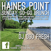 Haines Point Sunday Go-Go Brunch
