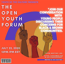 The Open Youth Forum