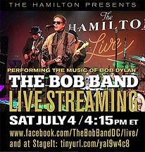 The Music of Bob Dylan - The Bob Band Live Streaming