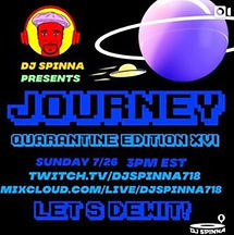 DJ Spinna presents Journey Quarantine Edition XVI
