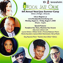 6th Annual Vocal Jazz Summer Camp